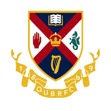 Queens University Irish Rugby Club Logo