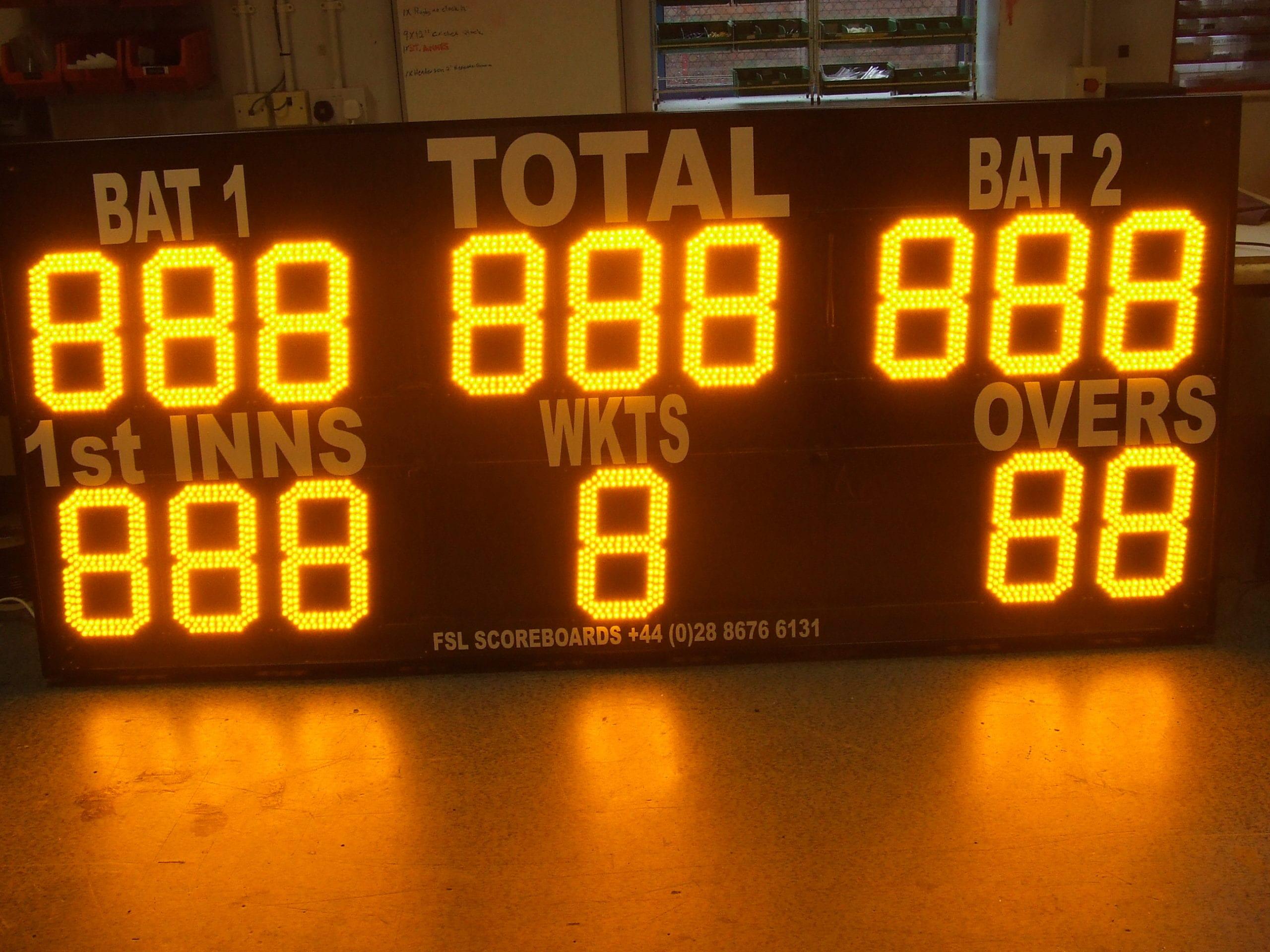 C02: 15 Digit Cricket Scoreboard Product Image