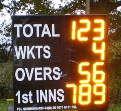 C01: 9 Digit Cricket Scoreboard Product Image