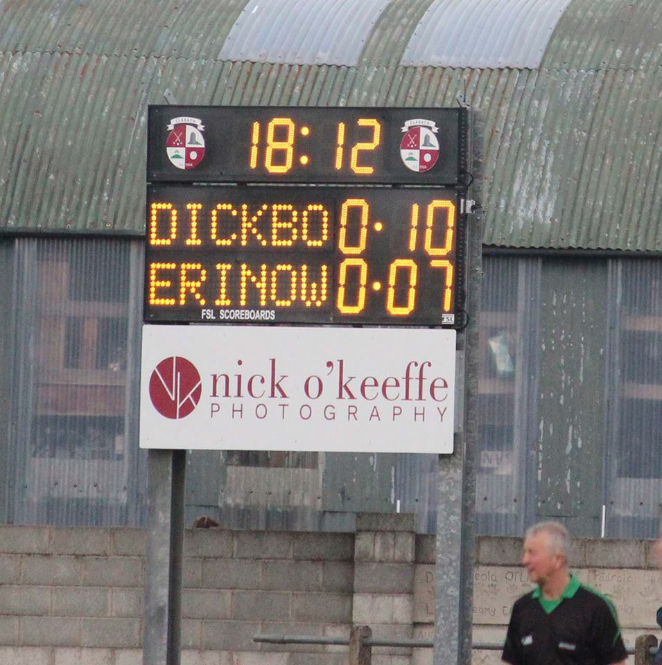 G03: Club Branded Scoreboard with Digital Team Names and Clock Featured Image