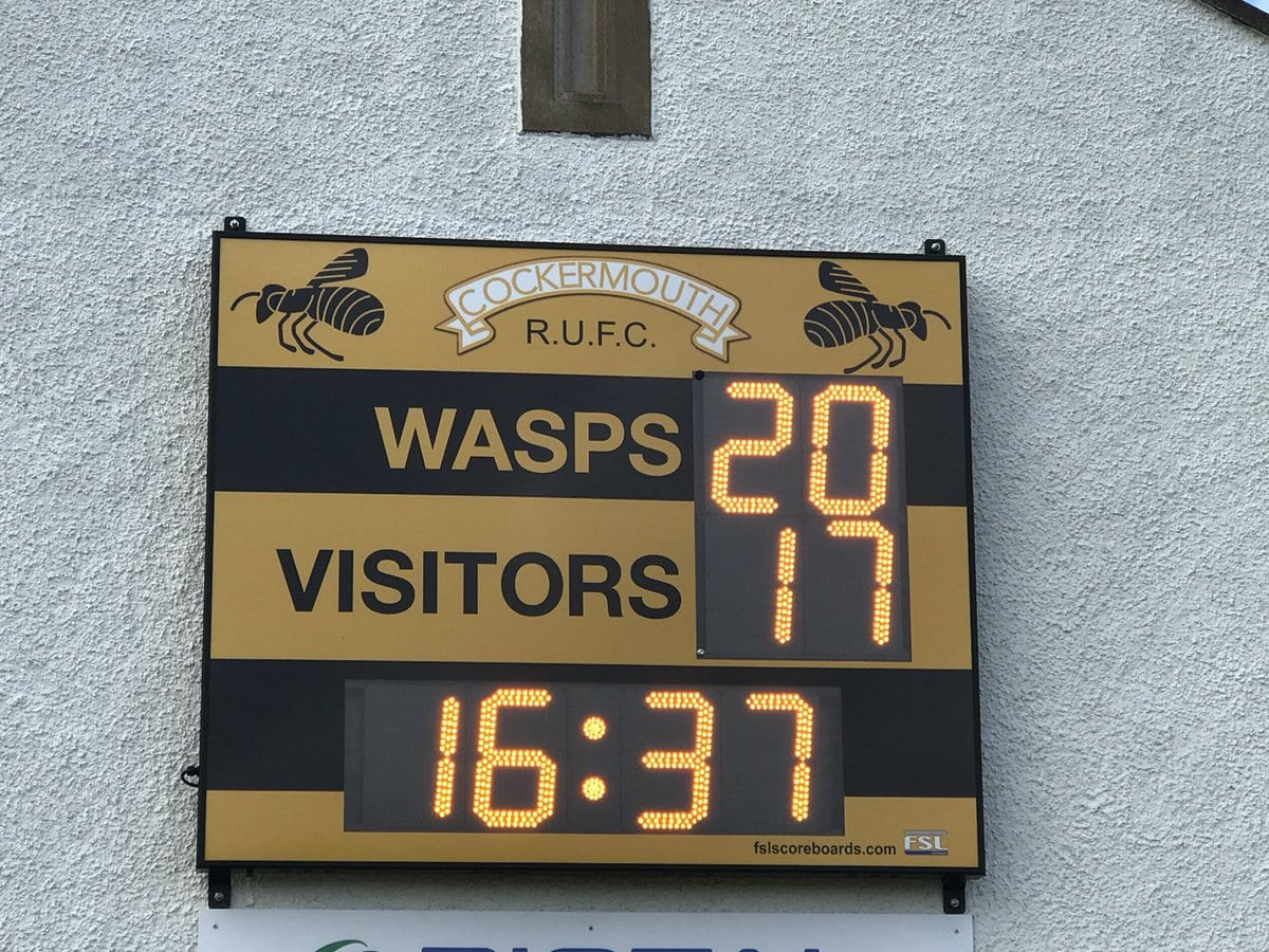 M02: Club Branded Scoreboard with Clock Product Image