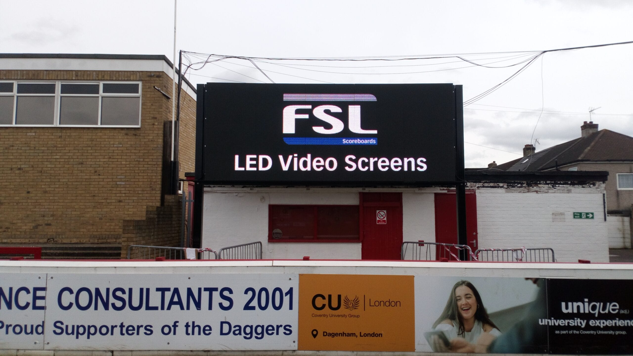 V02: 5x2m Video Scoreboard for Multi-Sport Use Product Image