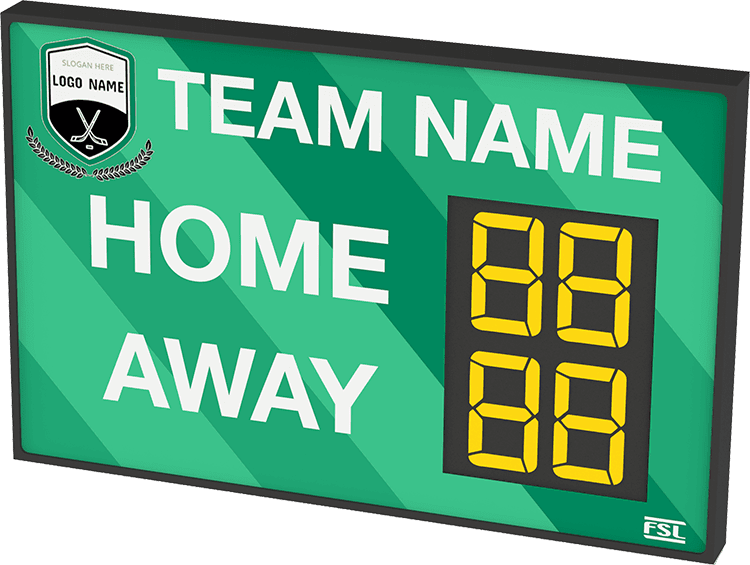 M01: Club Branded Scoreboard (Hockey) Featured Image