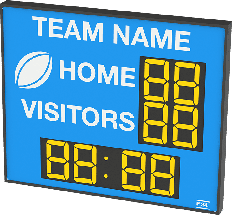 M02: Club Branded Scoreboard with Clock Featured Image