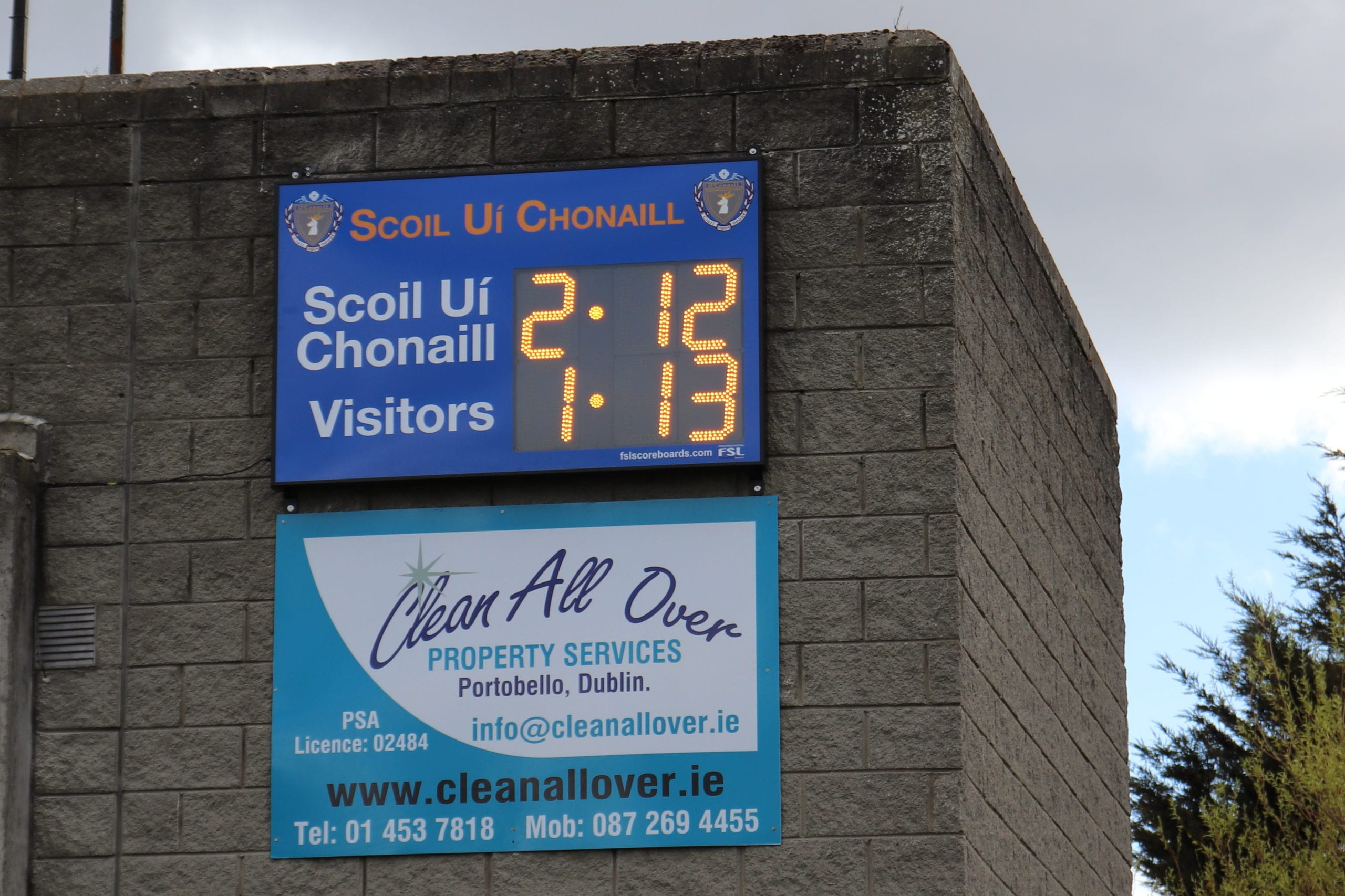 G01: Club Branded Scoreboard Product Image