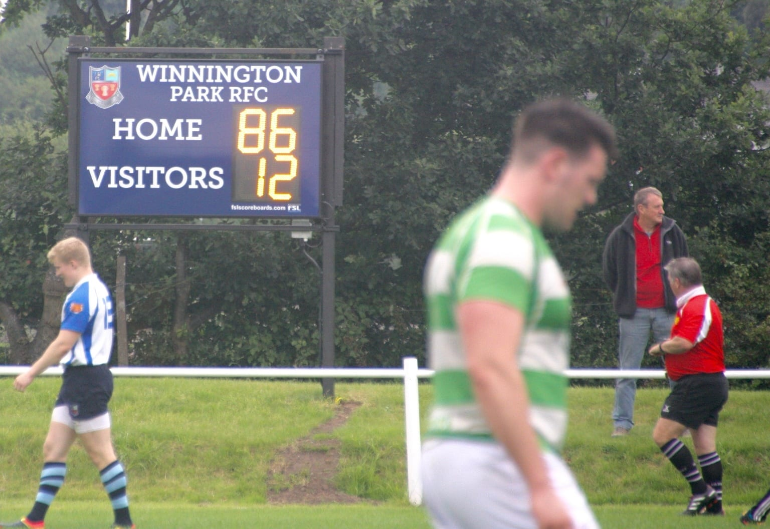 M01: Club Branded Scoreboard Product Image