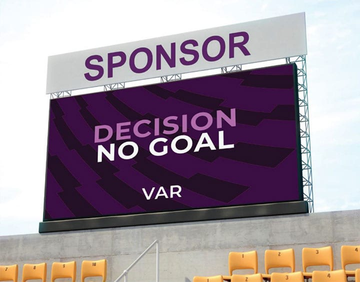 V01: 3x1m Video Scoreboard for Multi-Sport Use Product Image