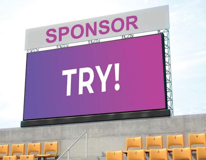 V02: 5x2m Video Scoreboard for Multi-Sport Use Product Image