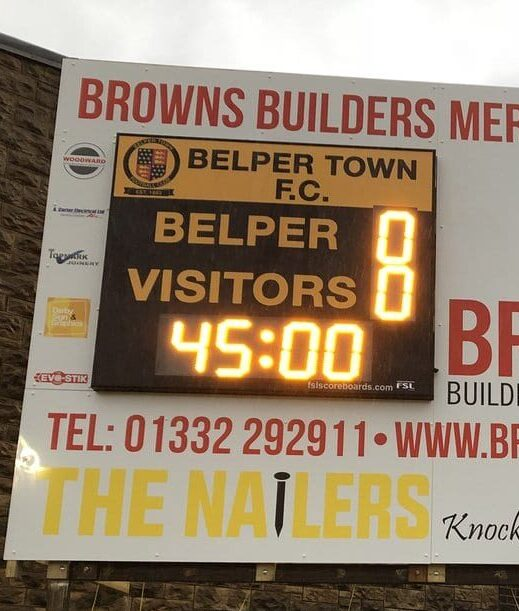 M02: Club Branded Scoreboard with Clock (Football) Featured Image