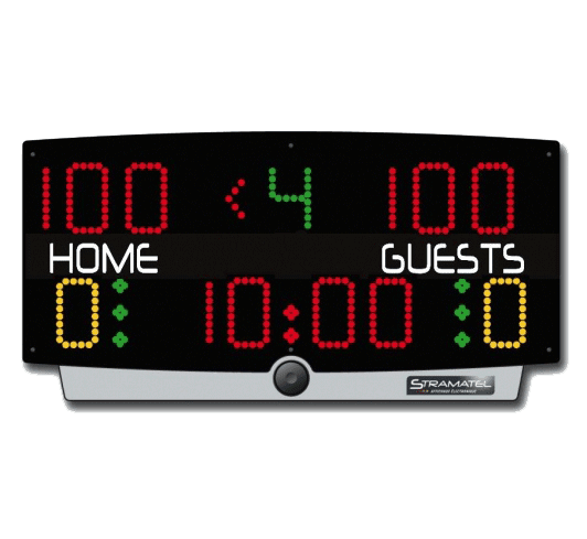 Indoor Sports Hall Multi-Sport Scoreboard Product Image