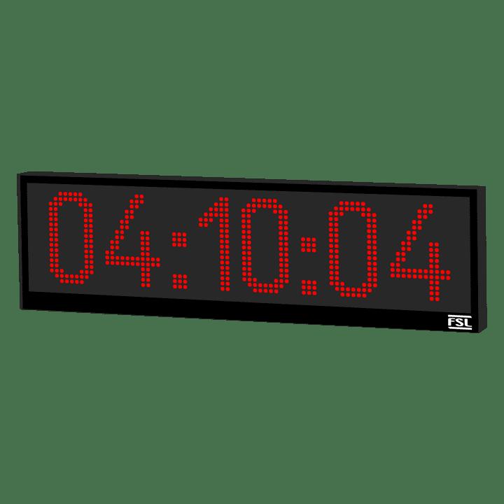 6 Digit Industrial Clock Featured Image