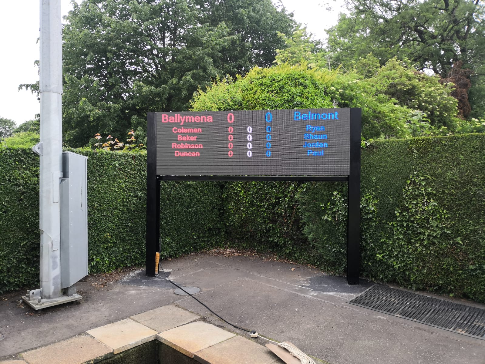 Outdoor Bowls Video Screen Product Image