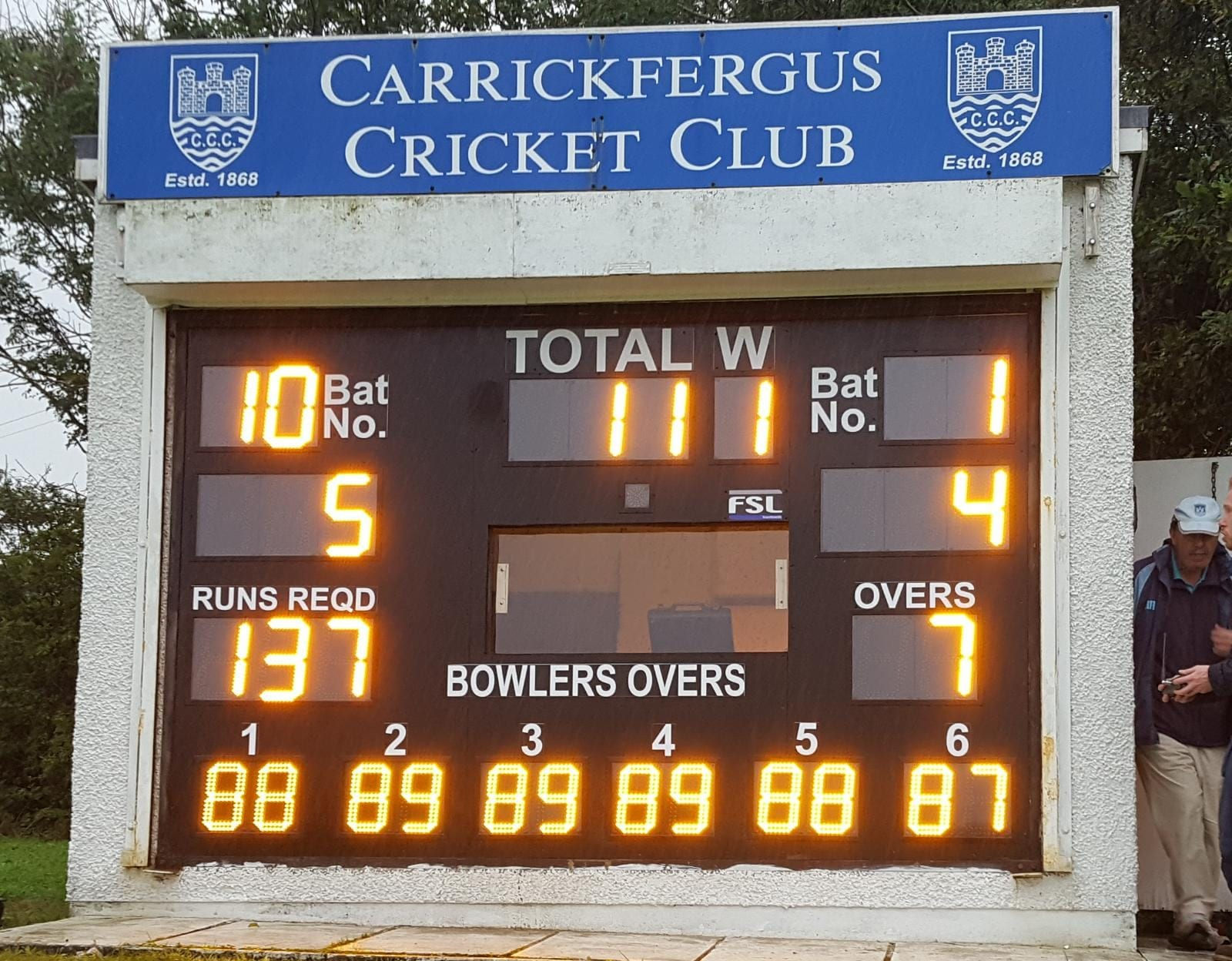 Carrickfergus Cricket Club Project Image