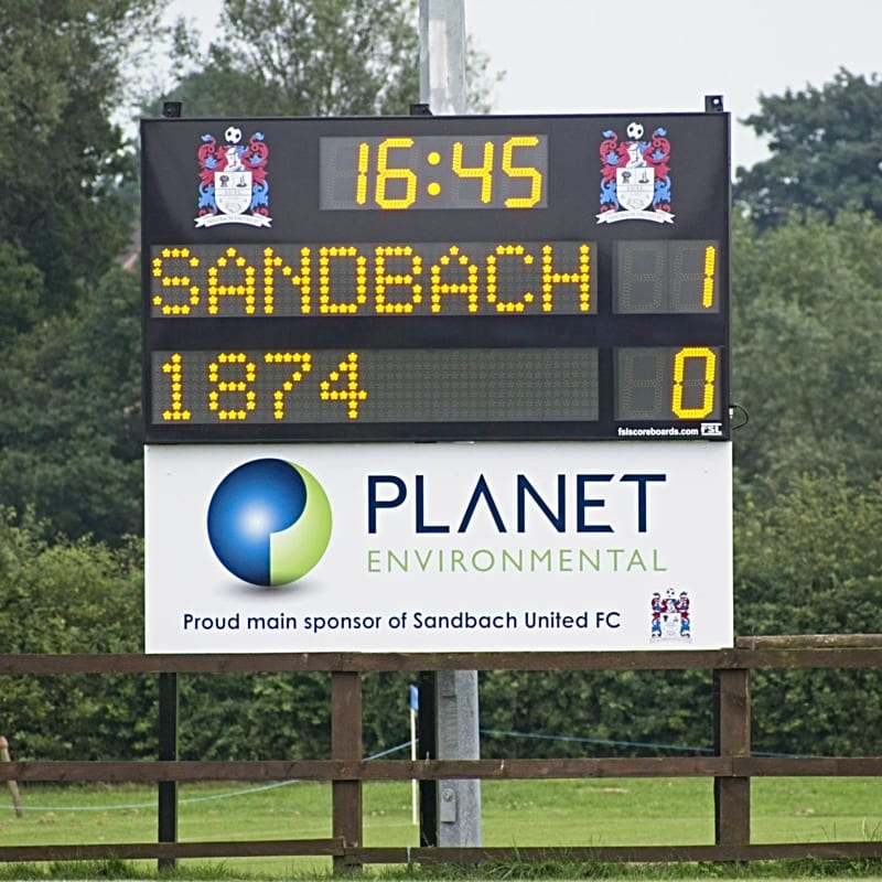 M03: Club Branded Scoreboard with Digital Team Names and Clock (Football) Featured Image